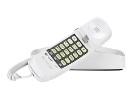 AT&T Trimline TL-210 Corded Telephone, White, TL-210 WH, 10014713, Telephones - Consumer