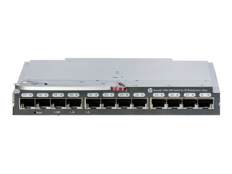 HPE Brocade 16Gb 16 SAN Switch for BladeSystem c-Class, C8S45A, 16524749, Fibre Channel & SAN Switches
