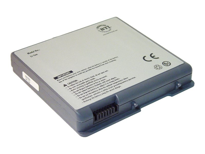 BTI Apple Powerbook G4 4000 mAh Li-Ion Battery, for 15 Titanium, MC-G4, 423907, Batteries - Notebook