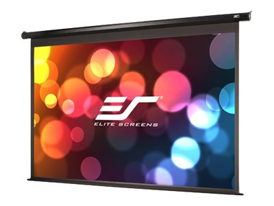 Elite Economy Electric Projection Screen, Black Case, 100in, ELECTRIC100H