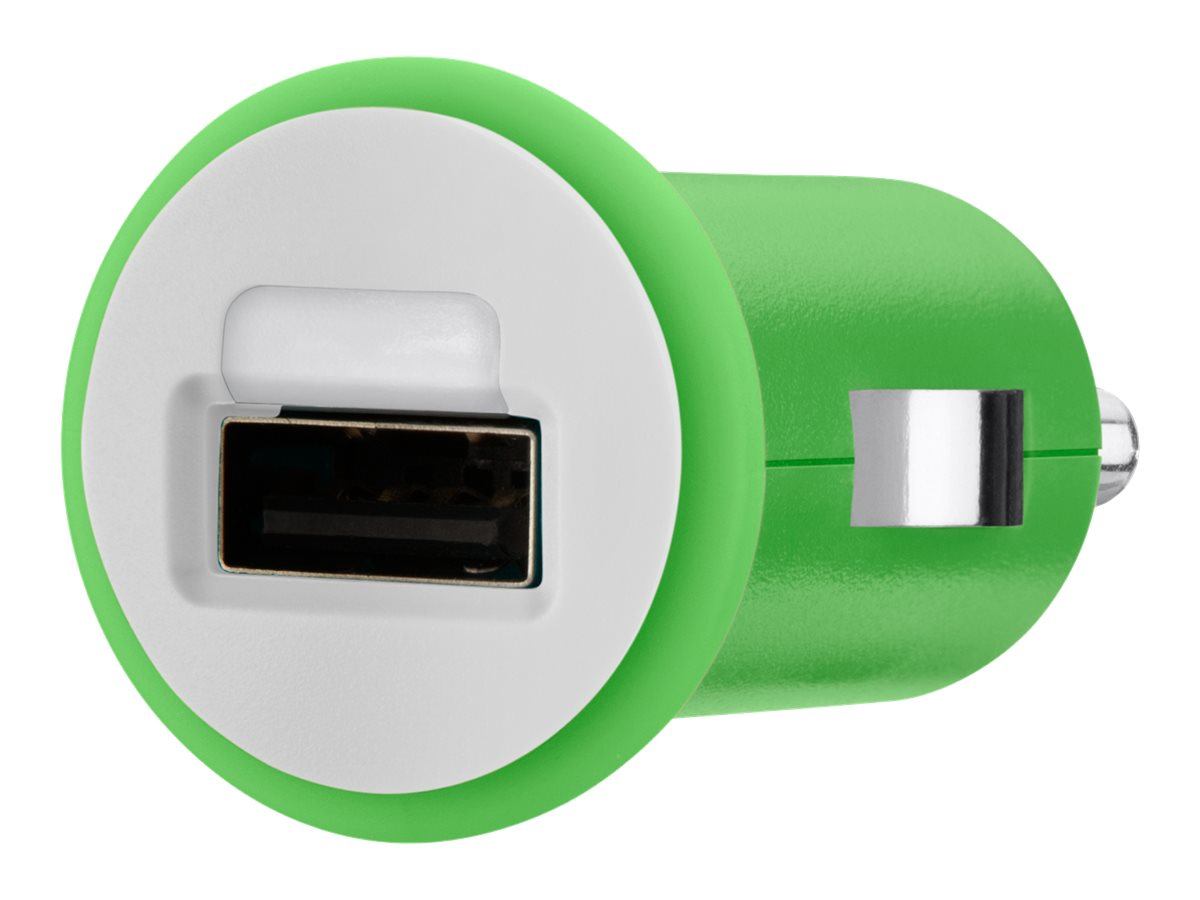 Belkin Mixit Up Car Charger 5 Watt 1 Amp, Green, F8J018TTGRN