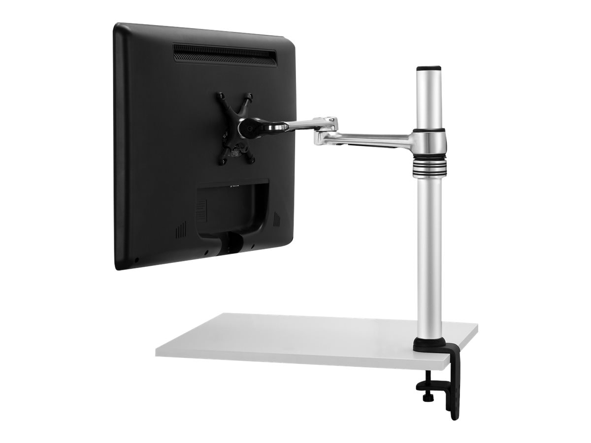 Atdec Articulated Desk Mount to 24, Polished, VF-AT/TAA, 10008313, Stands & Mounts - AV