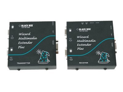 Black Box RS-232 Wizard MM Extender Plus