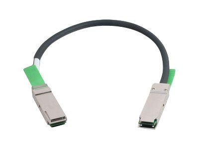 C2G 28AWG QSFP+ to QSFP+ 40G Passive InfiniBand Cable, 0.5m