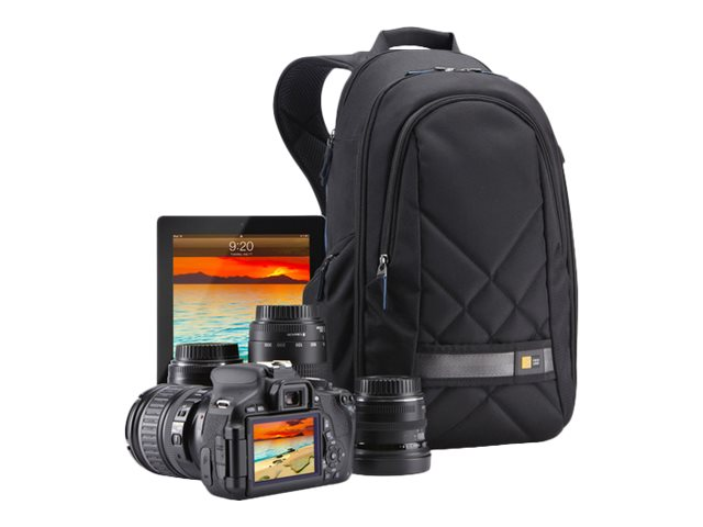 Case Logic DSLR Camera and iPad Backpack, Gray