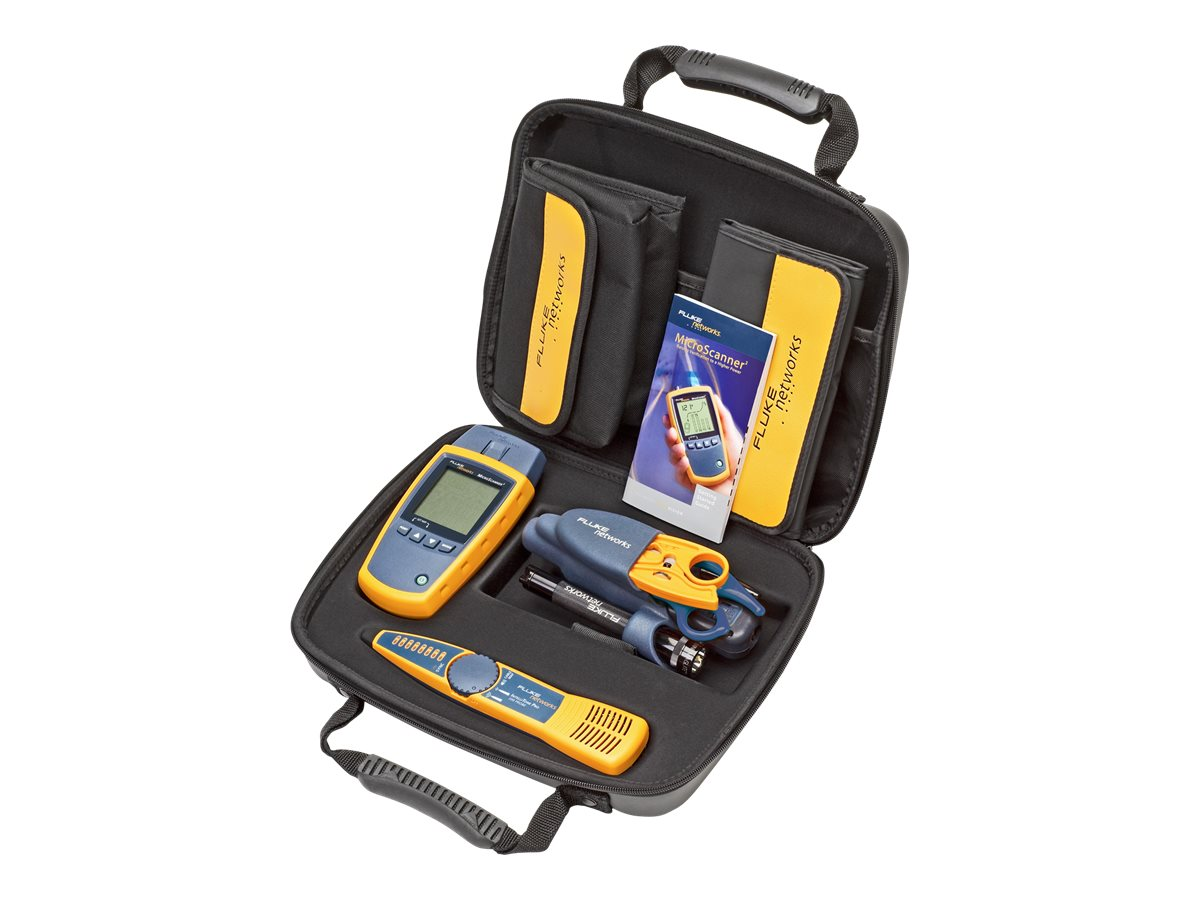 Fluke MicroScanner2 Termination Test Kit, MS2-TTK, 8320261, Network Test Equipment