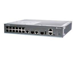 Juniper Networks 12-port 10 100 1000BaseT EX2200-C Compact Fanless Layer 3 Switch, EX2200-C-12P-2G, 14493782, Network Switches