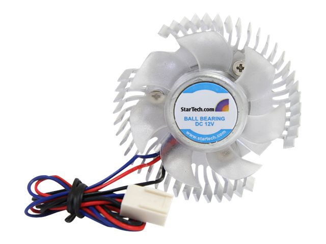 StarTech.com Heatsink and Fan, Round Orb for Chipset and Video Card Cooling, FANCSORB, 263895, Cooling Systems/Fans