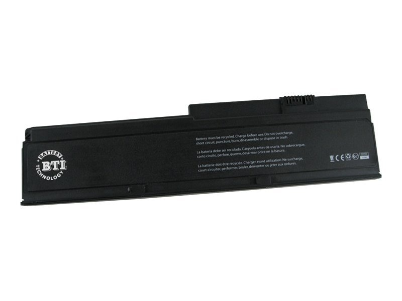 BTI Battery, Li-Ion 11.1V 5200mAh 6-cell for Select ThinkPad X200 X201 Series, 43R9254-BTI