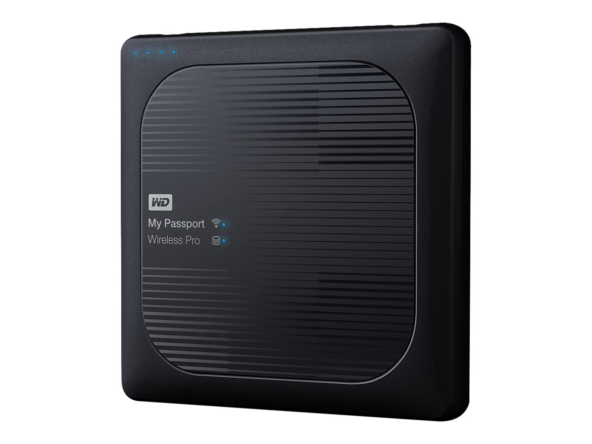 WD 2TB WD My Passport Wireless Pro Drive, WDBP2P0020BBK-NESN
