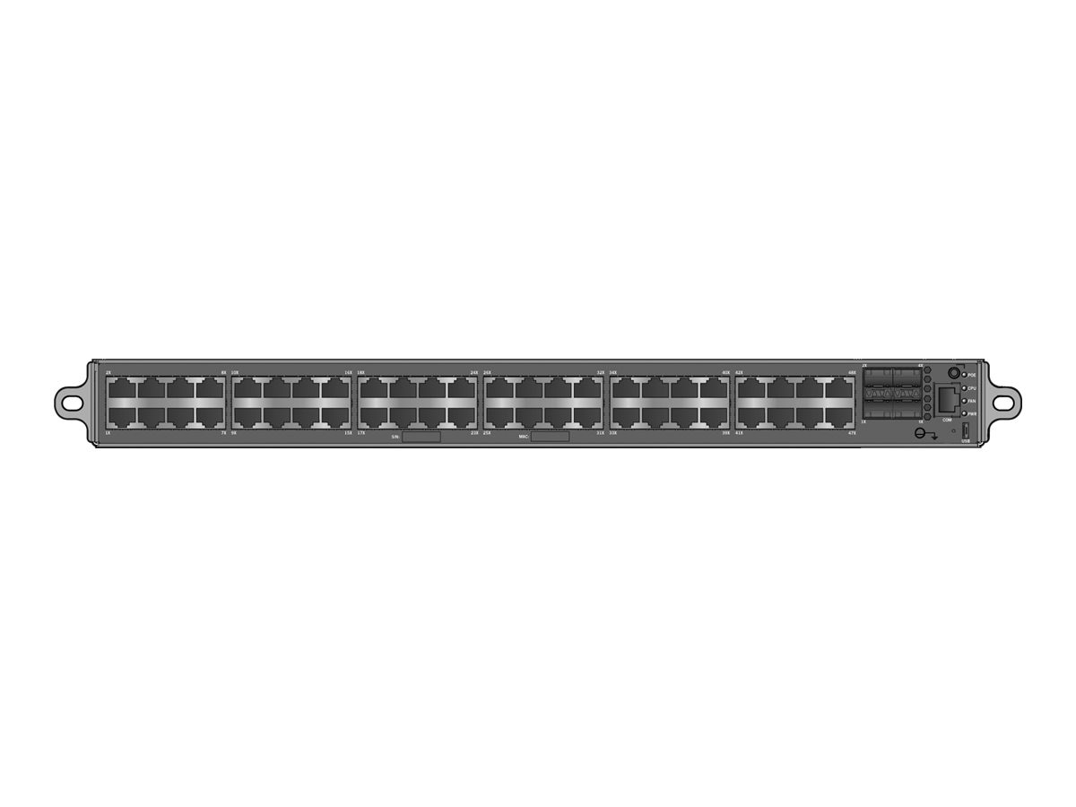 Enterasys S-Series Stand Alone S150 Class 48 Ports 10 100 1000BASE-T via RJ45 w PoE (802.3at) 4 SFPP Port 1X-A