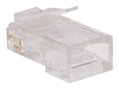 Tripp Lite RJ-45 Connectors for Solid Stranded Cable, 100-Pack, N030-100