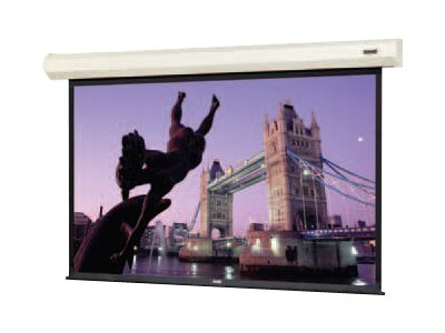 Da-Lite Cosmopolitan Electrol Projection Screen, HC Matte White, 4:3, 150, 92577L, 30553853, Projector Screens