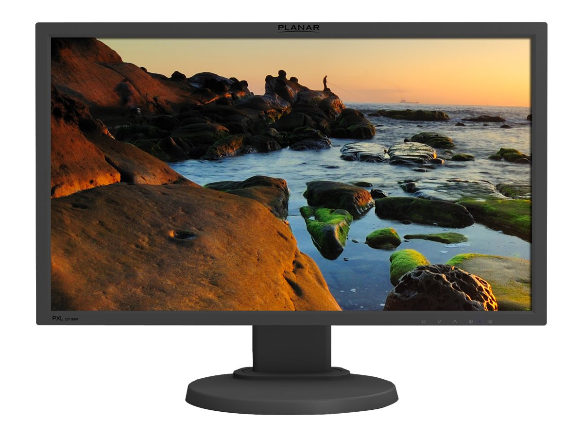 Planar 21.5 PXL2271MW Full HD LED-LCD Monitor, Black, 997-7847-00, 18151341, Monitors - LED-LCD