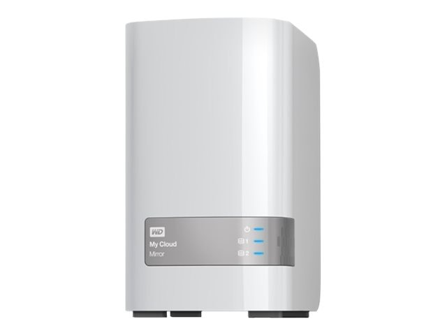 WD 6TB My Cloud Mirror (Gen 2) Personal Cloud Storage, WDBWVZ0060JWT-NESN