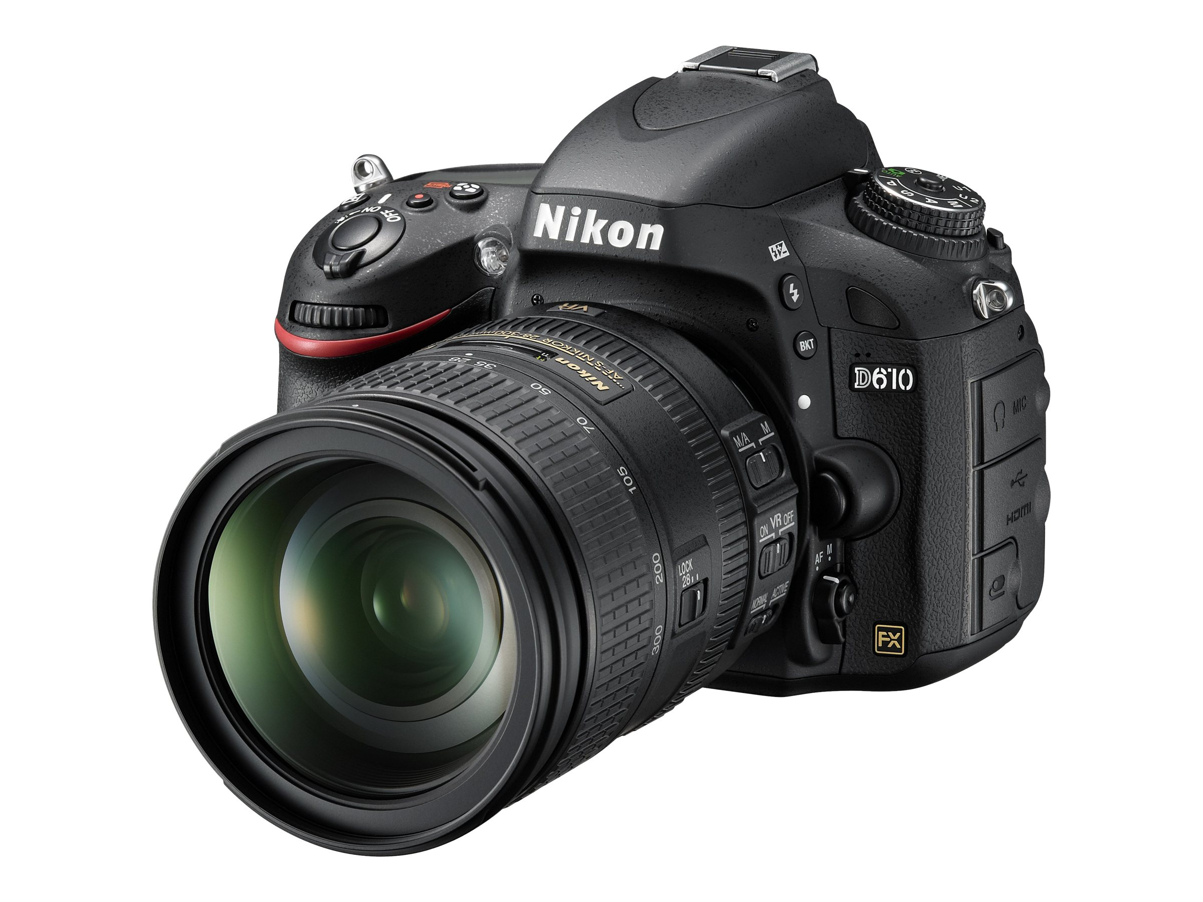 Nikon D610 FX-Format Digital SLR with 28-300mm VR Lens