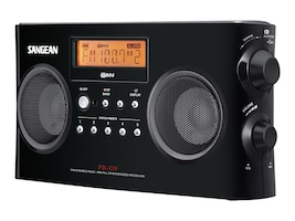 Sangean Digital Tuning Portable Stereo, PR-D5BK, 13407053, Portable Stereos