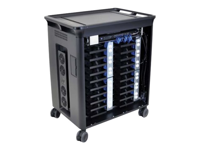 HP 20-Unit Managed Charging Cart V2