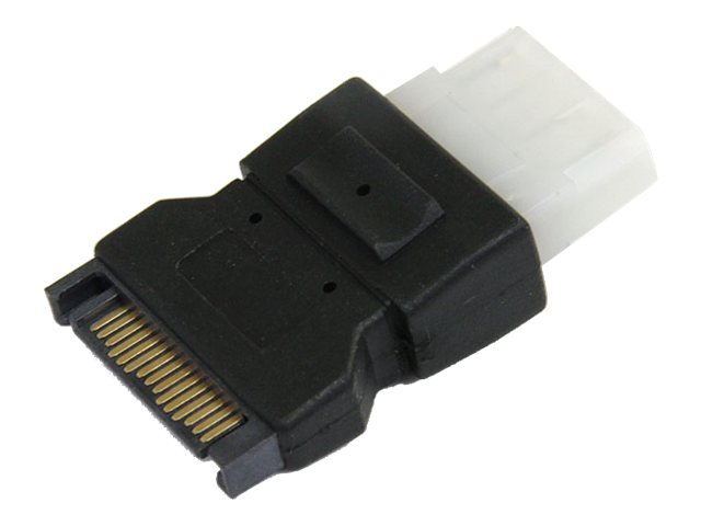 StarTech.com SATA 15-Pin Power Adapter to LP4 (M-F), LP4SATAFM