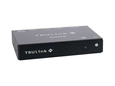 C2G TruLink VGA and 3.5mm Audio over UTP Box Transmitter, 29367, 13442191, Video Extenders & Splitters
