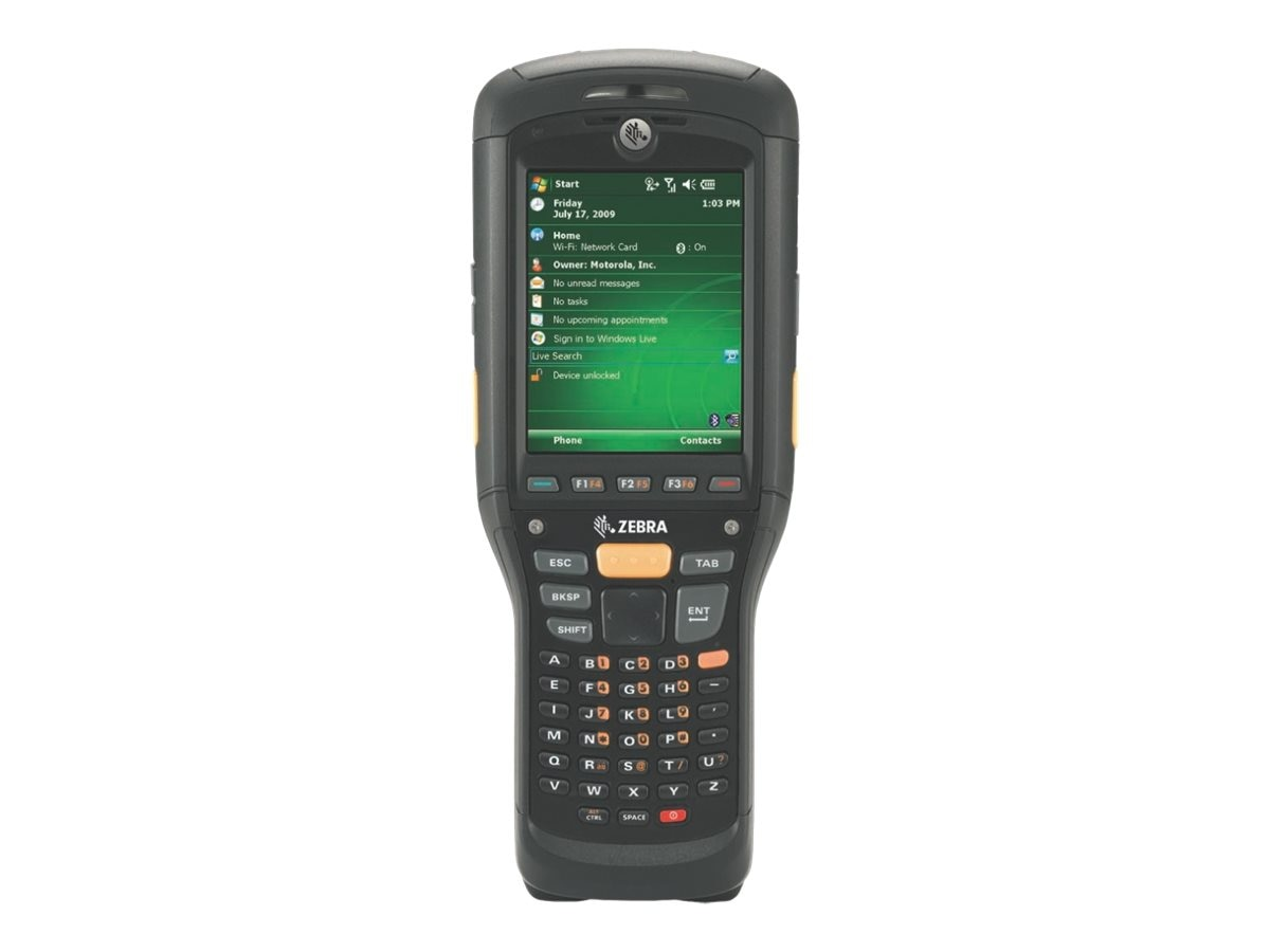 Zebra Symbol MC9590 Brick BT 802.11abg, 2D Imager, 256MB 1G, Terminal Emulation, Win Mob 6.5, MC9590-KB0DAG00100