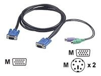 Freedom9 freeView KVM Cable HP3 10ft, KCB-123AF, 6773645, Cables