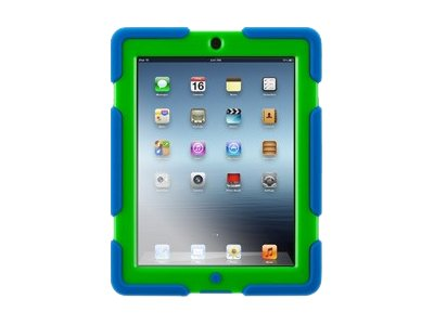Griffin Survivor Rugged case for iPad 2 3 and 4, Blue Green, GB35692-2, 15690770, Carrying Cases - Tablets & eReaders