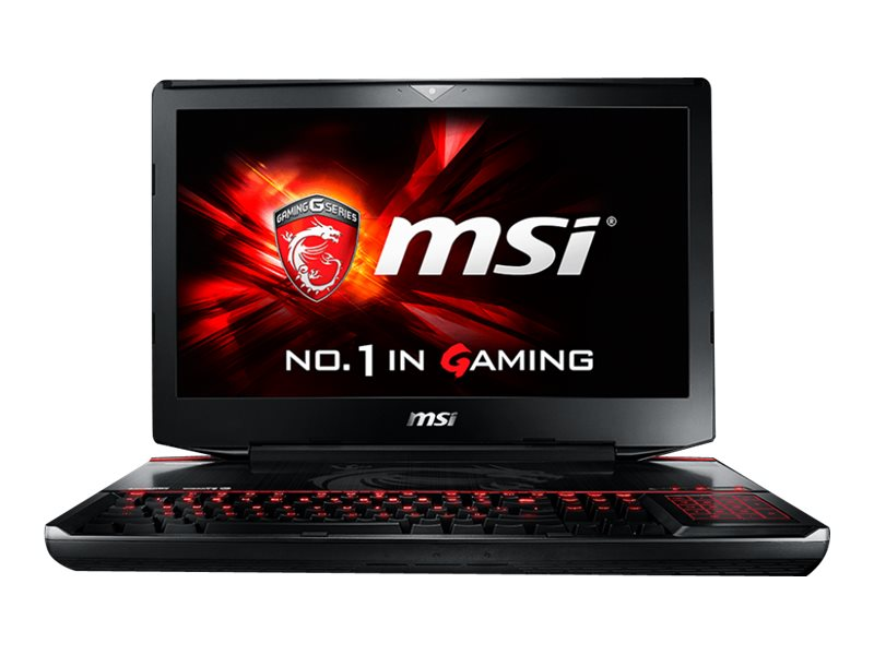 MSI Gaming Notebook Core i7-6920HQ Dual GTX980 SLI 3 18.4 FHD, GT80STISL072, 31096041, Notebooks