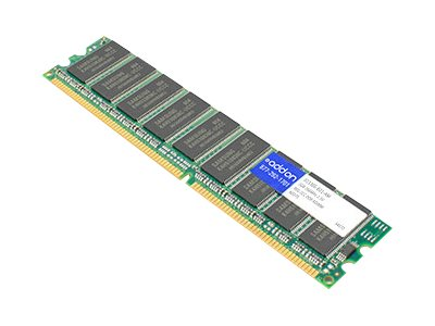 Add On 2GB PC2100 184-pin DDR SDRAM DIMM for Select Models, 313305-B21-AM, 14862568, Memory - Network Devices
