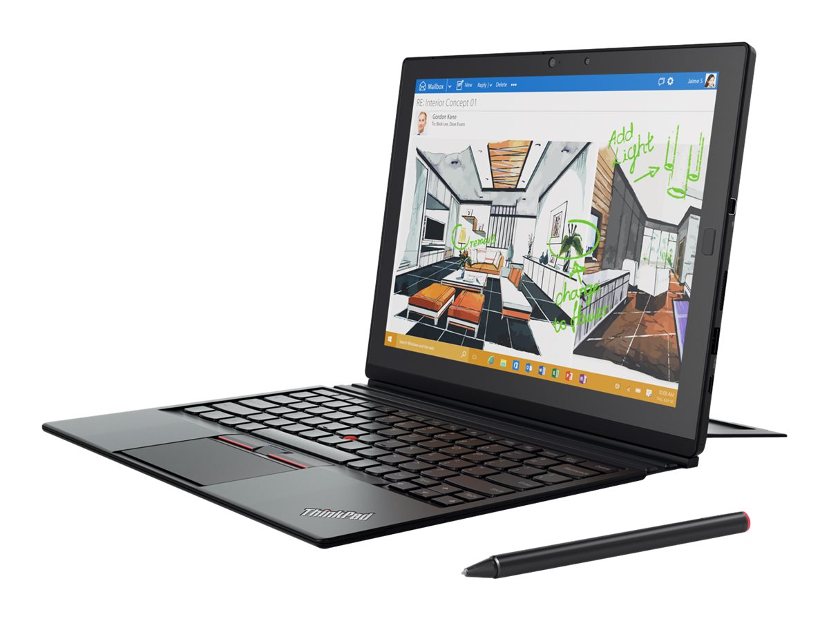 Lenovo TopSeller ThinkPad X1 Tablet 1.2GHz processor Windows 10 Pro 64-bit Edition, 20GG001NUS