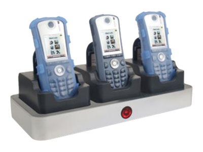 Zcover Charger for Ascom D62 I62 & Avaya 3720 Dock-In-Case for 3 Phones & Battery, AS62AU3A-NA