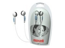 Maxell Stereo Earbuds, 190568, 6102032, Headphones