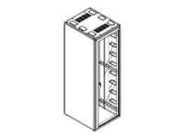 Chatsworth Cabinet Perf Front rear, M1043-742, 16353521, Racks & Cabinets
