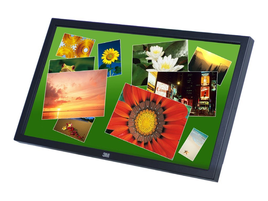 3M 32 C3266PW LCD Multi-Touch Display, Dual Serial USB