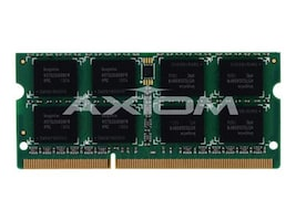 Axiom 4GB PC3-8500 DDR3 SDRAM SODIMM for MacBook Pro 17, MB1066/4G-AX, 9640354, Memory