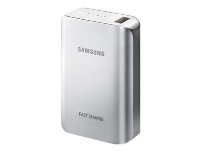 Samsung 10.2A Fast Charge Battery Pack (Silver)