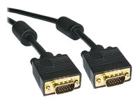 4Xem High Quality Dual Ferrite VGA M M Cable, 1ft