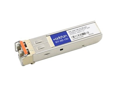 ACP-EP 1000Base-CWDM SFP Transceiver, MSA TAA, SFP-1GB-CW-57-80-AO, 30581601, Network Transceivers