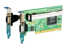 Brainboxes 1+1 2-port LP-UPCI RS232 Low Profile Serial Card, UC-101-001, 14491007, Controller Cards & I/O Boards