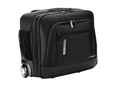 Targus Revolution 15.6 Compact Rolling Case, Black, TBR015US, 13571574, Carrying Cases - Notebook