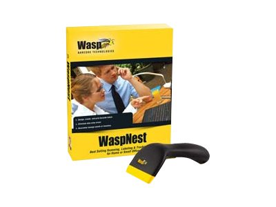 Wasp WaspNest WCS3950 CCD USB Scanner