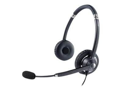 Jabra Voice 750 Duo Headset, Dark Gray, 7599-829-409