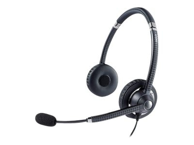 Jabra Voice 750 Duo Headset, Dark Gray