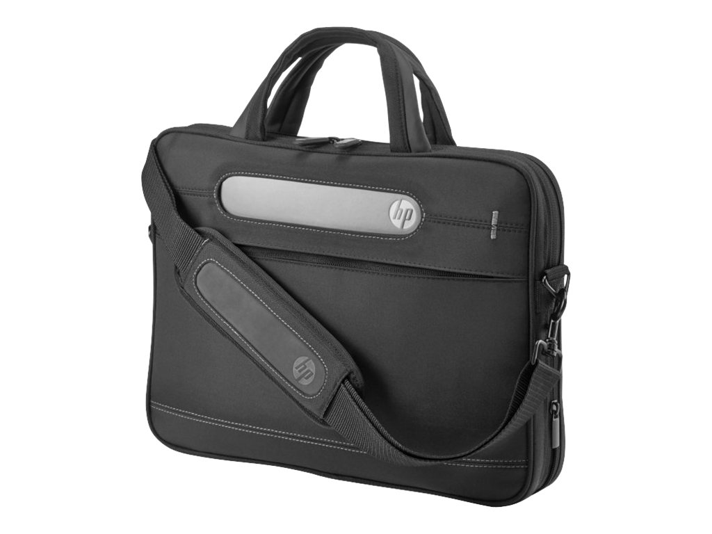 HP Business Slim Top Load Case, Black, H5M91AA, 15648715, Carrying Cases - Notebook