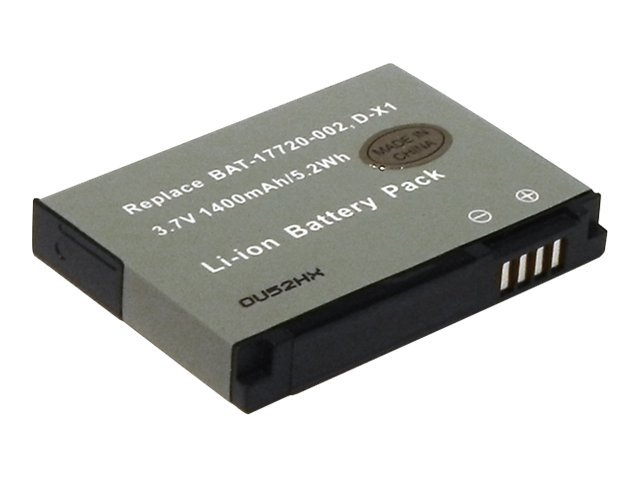 Ereplacements Smart Phone battery for Blackberry 9500, 9530 and Blackberry Storm. Replaces D-X1, BAT-17720-002-ER, 11718931, Batteries - Other