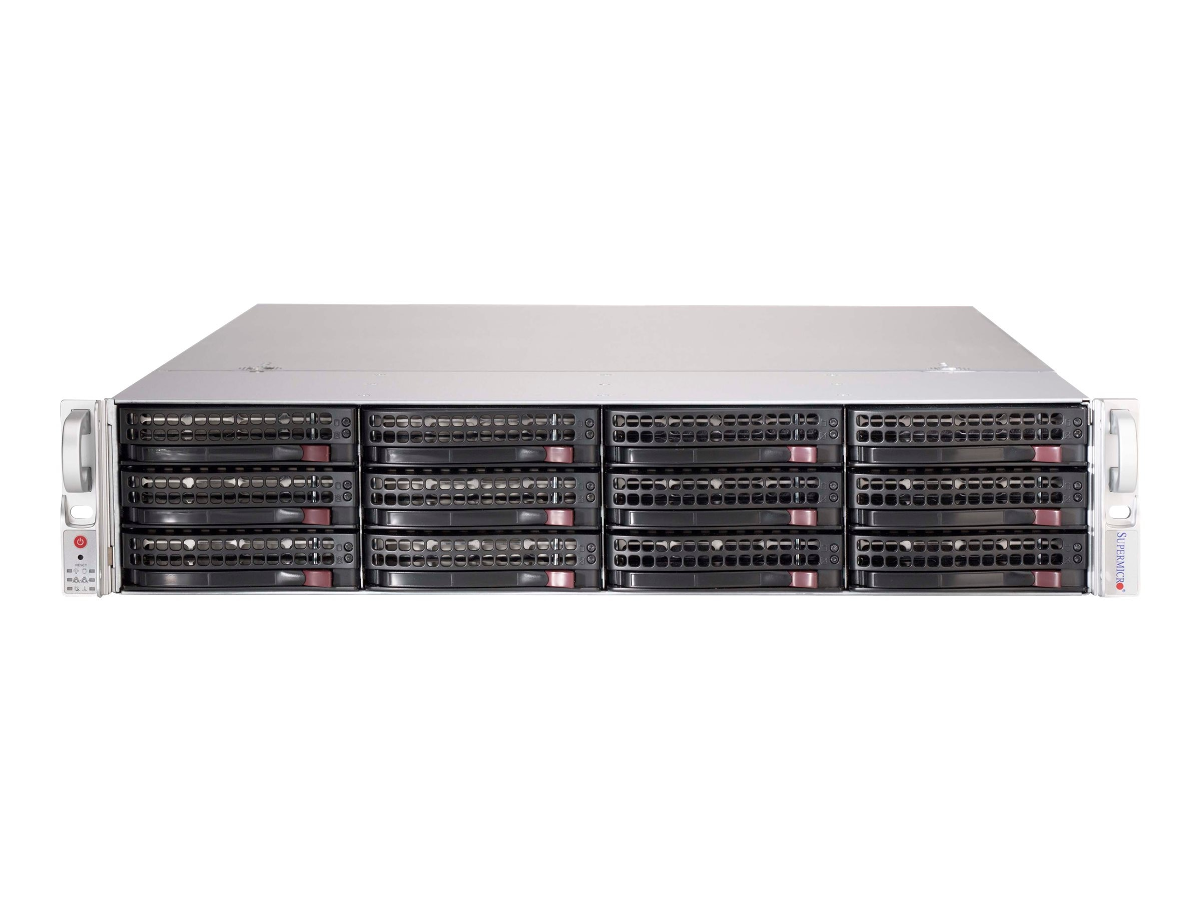 Supermicro Chassis, SuperChassis 826BE1C-R741JBOD 2U RM 12x3.5 HS Bays 2x740W