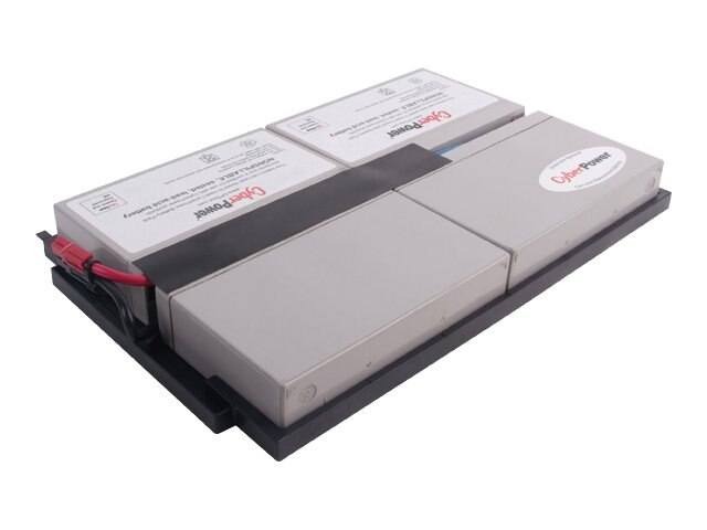 CyberPower UPS Replacement Battery Cartridge 6V 9Ah 4-Battery Pack