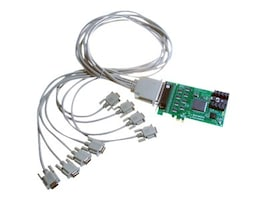 Brainboxes PCIe 8XRS232 1MB Controller, PX-279, 14488975, Controller Cards & I/O Boards