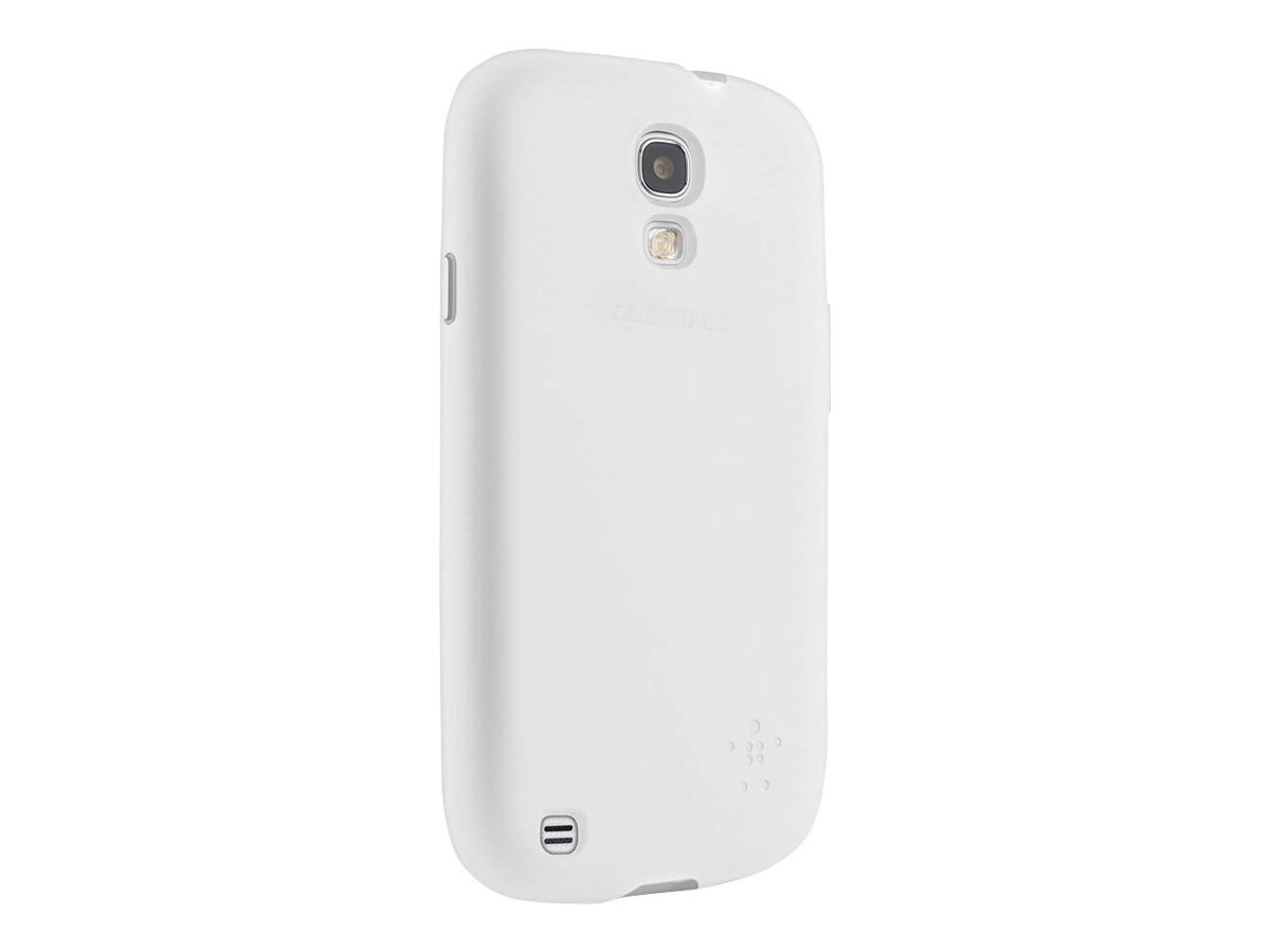 Belkin Grip Sheer Matte Case for Samsung Galaxy S4, Clear, F8M551BTC01, 15961171, Carrying Cases - Phones/PDAs