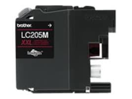 Brother Magenta LC205M Super High Yield Ink Cartridge, LC205M, 17539563, Ink Cartridges & Ink Refill Kits